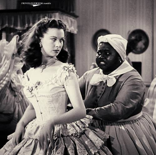 "Hattie McDaniel (right) with Vivien Leigh in ""Gone with the Wind"" (1939)"