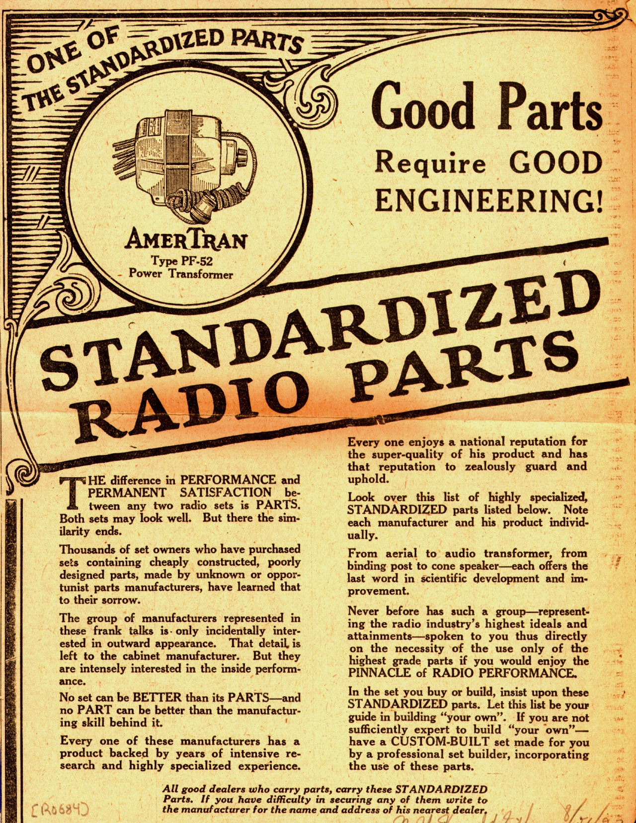 Good_Parts_Require_Good_Engineering_Standardized_Radio_Parts