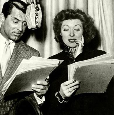 Cary Grant and Greer Garson