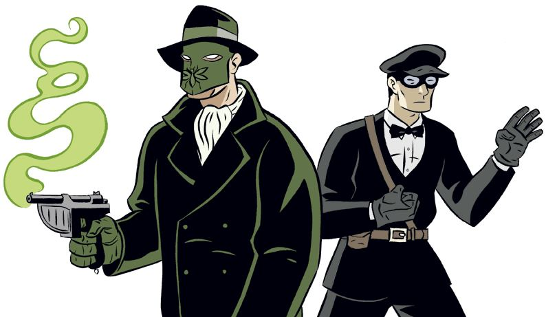 Drawing by Dan Christensen based on Keye Luke as Kato, crime fighting assistant of that vigilante The Green Hornet as portrayed by Gordon Jones !