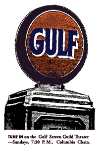 Gulf Oil Corp. sponsored The Screen Guild for Four Seasons