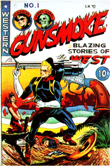 Gunsmoke_Comic_1