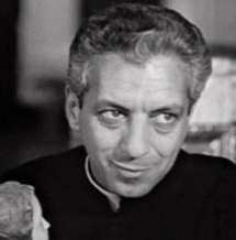 Harry Bartell as Father Xavier Rojas in the traditional Christmas episode of Dragnet, The Big Little Jesus, originally aired December 24, 1953.
