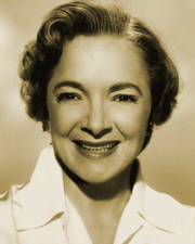 Helen Hayes voiced Lise Meitner and the female roles in The Quick and The Dead