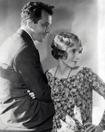 Helen Hayes with husband playwright Charles MacArthur circa 1928