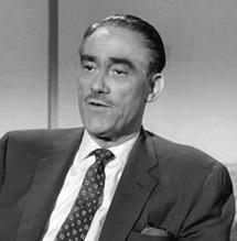 Herb Lytton from a 1957 Perry Mason episode as Dr. Lambert