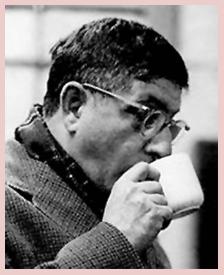 Herrmann's secret weapon--lots and lots of coffee, ca. 1968