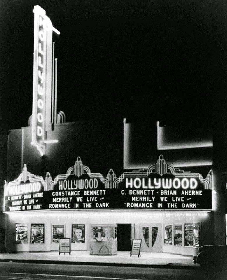 Hollywood movie theater