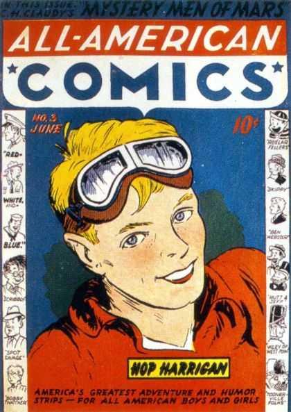 Hop Harrigan Comic Book