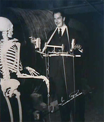 Vincent Price in the horror classic, The House On Haunted Hill (1959)
