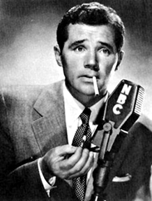 Howard Duff as Sam Spade over NBC, ca. 1949
