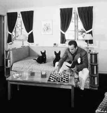 Bogart reportedly took a chess board with him wherever he went