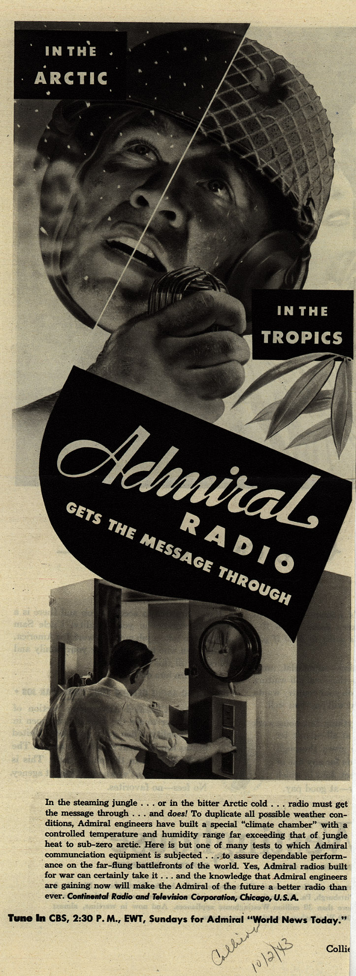 In_The_Arctic_In_The_Tropics_Admiral_Radio_Gets_The_Message_Through