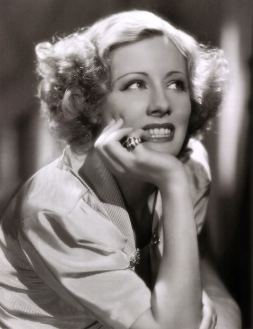 Irene Dunne as Susan Armstrong editor of the Hillsdall Morning Star