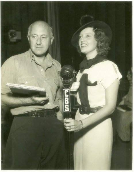 'Irene' Lux Radio. Jeanette Macdonald with With Cecil B. DeMille