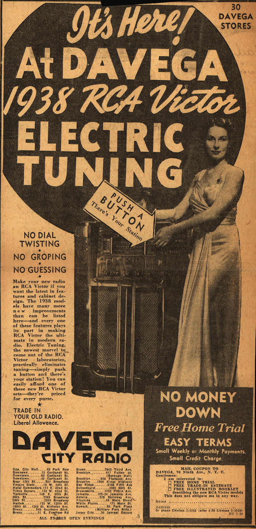 Its_Here_At_Davega_1938_RCA_Victor_Electric_Tuning