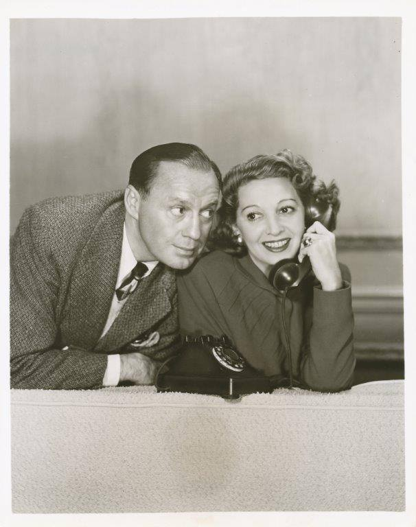 Jack Benny And Mary Livingston