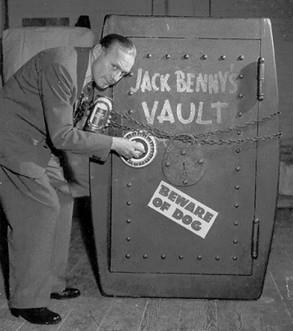 Jack Benny vault