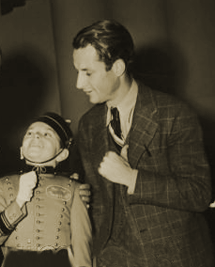 Jack Johnstone with Johnny Roventini from January 1 1935