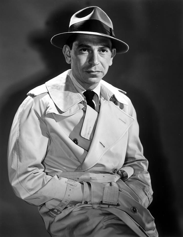 Jack Webb as his iconic character