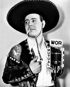 Jackson Beck as 'Cisco Kid', c. 1942