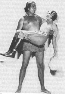 James & Joan Burroughs Pierce as Tarzan and Jane (1932 - 1934)
