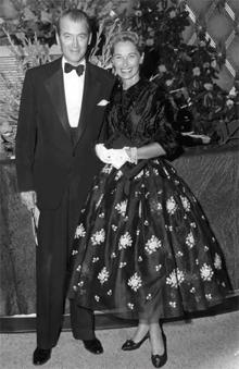 James and Gloria Stewart circa 1957