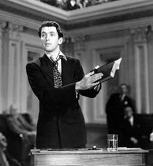 James Stewart in Mr. Smith Goes to Washington (1939)