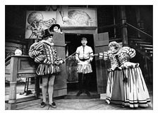 Jan Miner in The Merry Wives of Windsor, Stratford Conn. ca. 1982