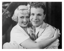 Powell and first wife, Joan Blondell, ca. 1938