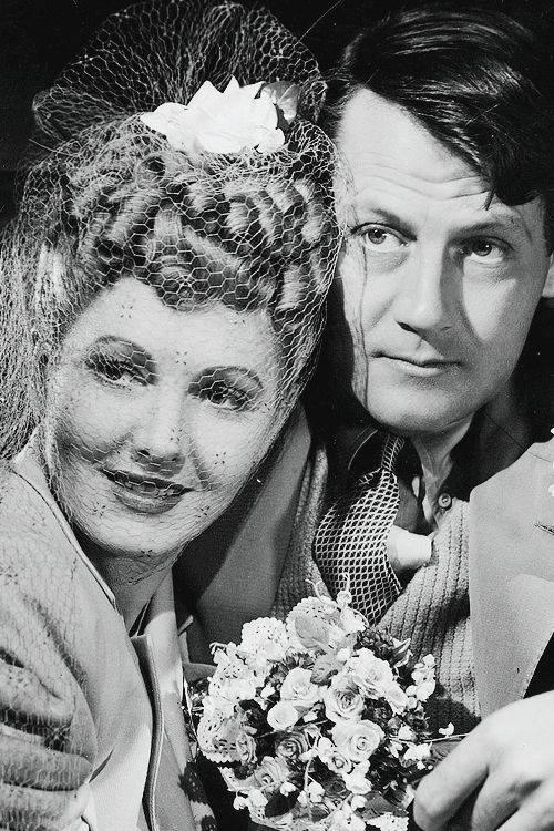 Jean Arthur and Joel McCrea