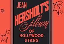 Front Cover of Vaseline-sponsored tribute to Jean Hersholt's 25 Years on the screen, to promote their Dr. Christian Radio program.