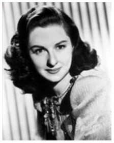 Joan Lorring publicity photo ca. 1949