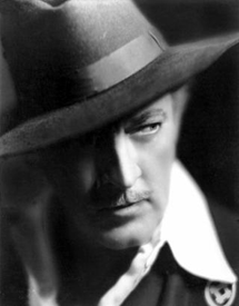 A dashing and foreboding John Barrymore circa 1927