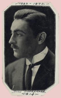 John Barrymore circa 1914