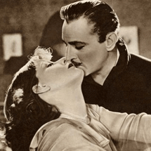 John Barrymore with Greta Garbo in Grand Hotel 1932