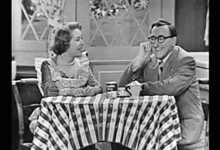 John Brown with Gracie Allen from 1949's The George Burns and Gracie Allen Show