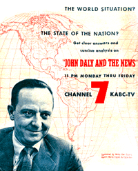 John Daly and the News became an ABC fixture for over five years.