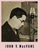 John V. MacVane NBC War Correspondent