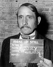 Makeup still of Victor Jory as Jonas Wilkerson the brutal overseer in Gone With the Wind (1939)