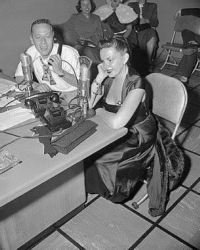 Judy Garland and Jack Eigen