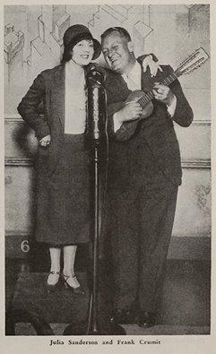 Julia Sanderson & Frank Crumit