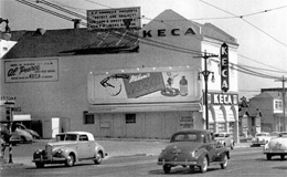 KECA's original studios on North Highland Avenue in Hollywood.