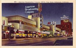 ABC/KECA's spanking new 1947 studios on Vine street, near Hollywood Blvd.