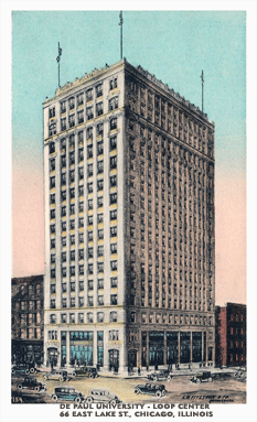 WENR was cited at the Kimball Building in 1926