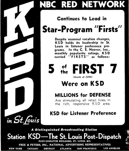 From Broadcastng, July 28, 1941