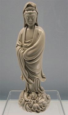 Kuan Yin statue from the Shanghai Museum