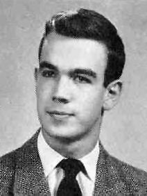 Charles Kuralt High School Annual photo circa 1950