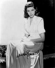 Lauren Bacall, ca. 1947