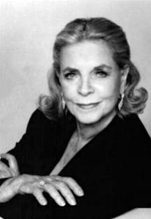 Lauren Bacall, ca. 1990